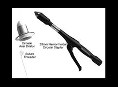 درمان هموروييد با استپلر